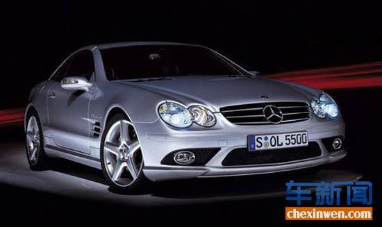 奔驰sl55 amg(2006款),甚至有人猜测他的车牌是被崇拜者偷去高清图片