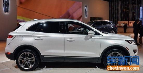 林肯新款MKC亮相洛杉矶 锁定豪华车市场