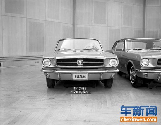 从草图到量产 福特mustang车标演变历史