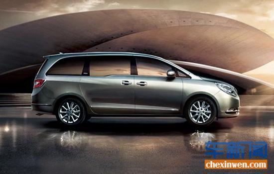 2014款别克GL8商务车上市 20.9万起售高清图片