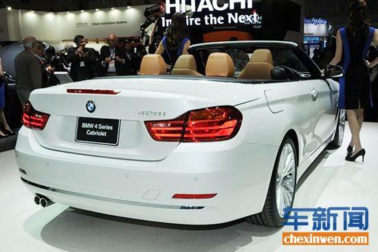 全新宝马4系敞篷车台湾亮相 61.34万起售